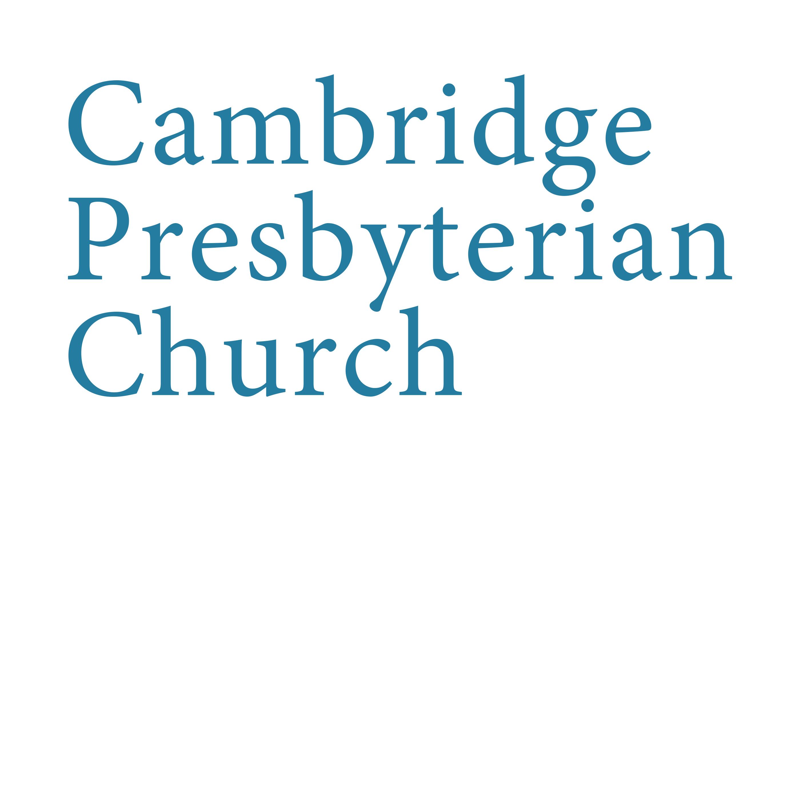 Cambridge Presbyterian Church